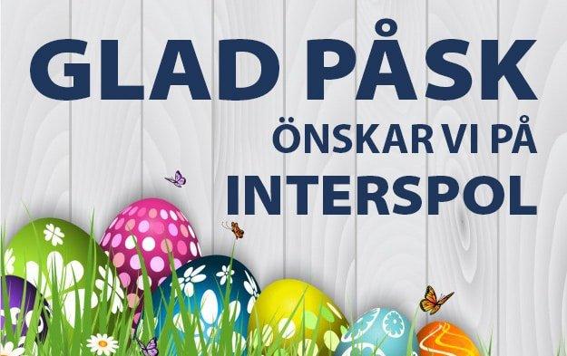 Glad påsk önskar Interspol AB