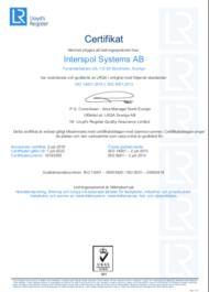ISO 9001/14001 förnyelse